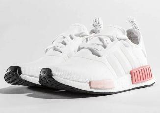 Adidas阿迪达斯国内断货款NMD女士粉色款低至143.99欧,相当于国内七折