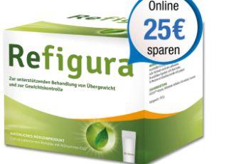德国植物性健康减肥减脂必备单品REFIGURA冲剂单月套直降25欧