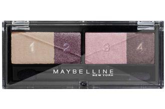 Maybelline New York美宝莲纽约粉紫色四色眼影系列仅需5.56欧