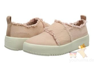 Calvin Klein休闲小白鞋水洗牛仔布设计低至29.84欧