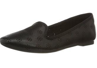Clarks超值纯皮镂空小花设计的乐福鞋低至31.95欧