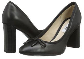 舒适美观的超值Clarks Idamarie Faye女士通勤中跟皮鞋低至33.32欧