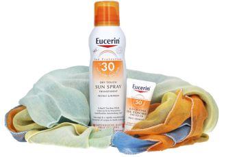 紫外线制霸:优色林Dry Touch清爽型防晒喷雾特价,附赠控油防晒霜和野餐地毯