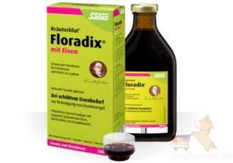 """女性健康必备:Floradix""""铁元""""糖浆低至7.19欧"""
