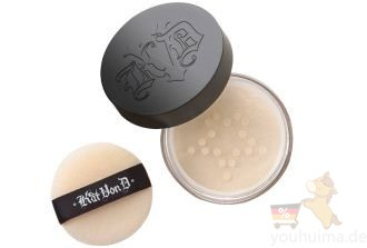 美国彩妆新秀Kat Von D lock it setting powder透明蜜粉低至15.99欧