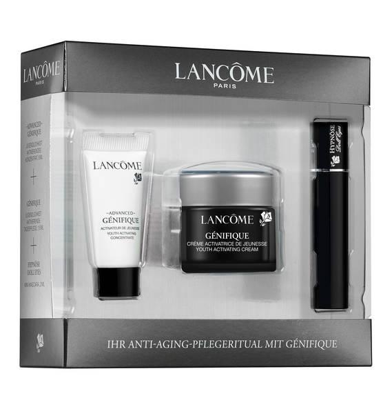 Lancôme小黑瓶精华+小黑瓶面霜+睫毛膏套装,价值46欧,折后只要12欧!速收~~