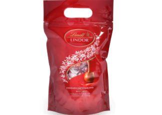 瑞士Lindt瑞士莲软心牛奶巧克力礼盒1公斤仅需24.3欧