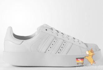 Adidas三叶草2017 SUPERSTAR BOLD 情侣款厚底贝壳头板鞋低至76.96欧