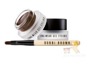 Bobbi brown芭比波朗不晕妆流云眼线膏低至20.95欧,附赠最新轻柔瞬间卸妆液30ml