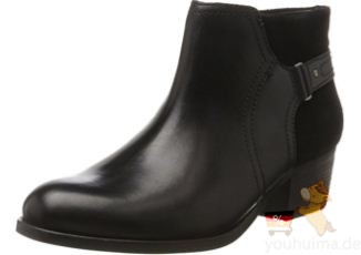 Clarks其乐女士纯皮短靴Maypearl Lilac低至78.33欧