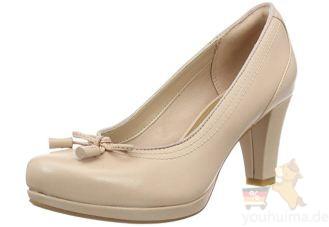 Clarks其乐女士通勤高跟鞋Chorus Bombay Pumps低至44欧