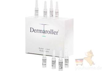 德国原装进口dermaroller玻尿酸原液安瓶八折特惠,仅需62.37欧