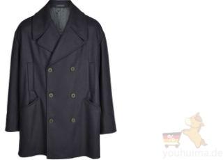 Emporio Armani阿玛尼最新纯棉双排扣男士风衣外套直降501欧