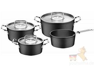 德国Fissler菲仕乐最新欧洲畅销款luno系列汤锅四件套直降140欧