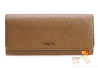 原价155欧的意大利Furla芙拉女士长款十字纹小牛皮钱包低至72.25欧