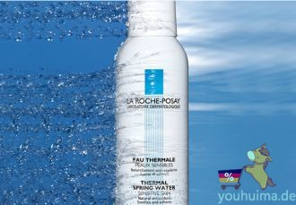夏日肌肤喷雾疗法必备,理肤泉温泉水镇静保湿舒缓喷雾低至2.35欧起