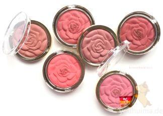 美国Milani Rose Powder Blush限量浮雕玫瑰花瓣腮红低至12.13欧