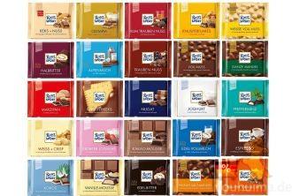 德国Ritter Sport巧克力正装ALL IN所有口味集锦仅需38.9欧