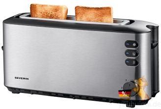 德国家电畅销王牌Severin自动烤面包机低至26.99欧