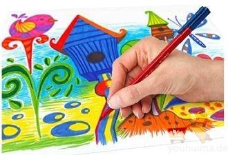 德国原产staedtler施德楼儿童学生水彩笔20支套装低至13.5欧,并附赠六支不同颜色的水彩笔