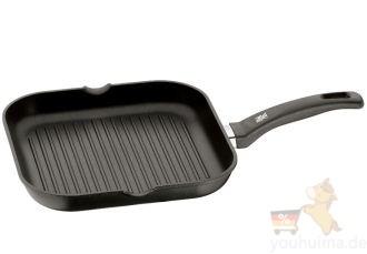德亚销量第一的WMF福腾堡牛排肉类鱼类煎烤专用铸铁平底锅仅需36.87欧