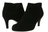 其乐Clarks纯牛皮反绒细跟高跟靴裸靴低至52.40欧