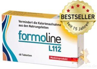 德国销量第一减肥产品——Formoline L 112 植物膳食纤维控脂减肥片七折特惠