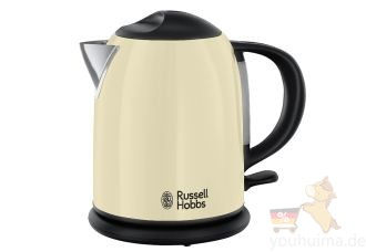 Russell Hobbs超节能大功率糖果色系烧水壶低至27.99欧