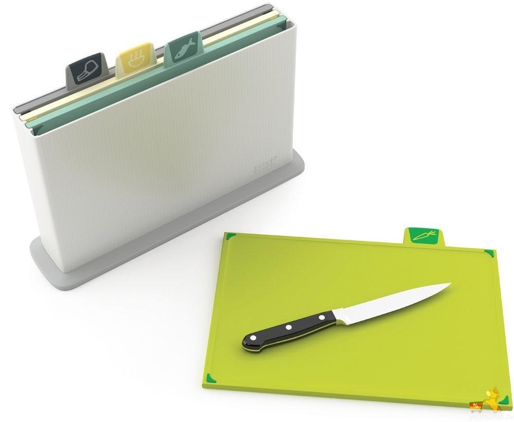英国创意设计Joseph多彩分类多功能卫生切菜板