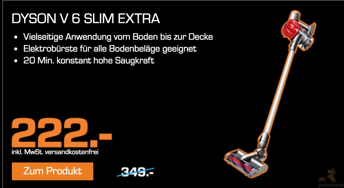 Saturn黑五热门电器最低价,dyson v6手持吸尘器仅222欧元