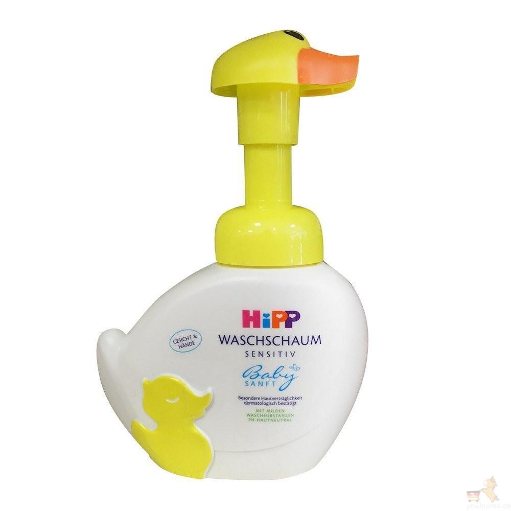 防病毒,德国喜宝Hipp小鸭子洗手洗脸二和一洗浴液