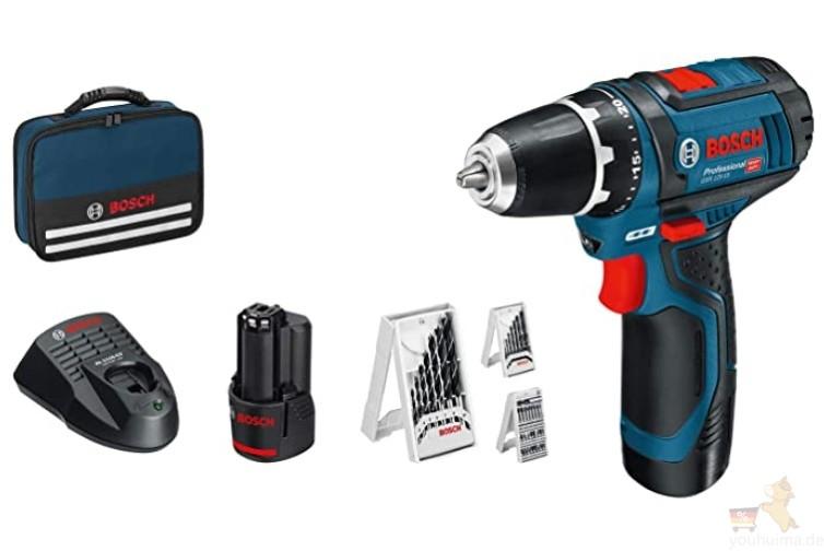 德国博士Bosch Professional 高档系列手电钻20欧元优惠
