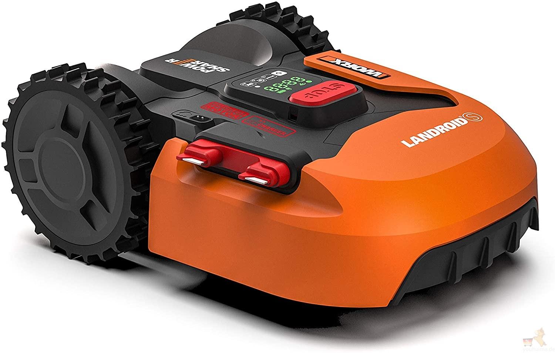 Worx Landroid自动割草剪草机器人花园好帮手