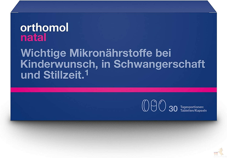 Orthomol 奥适宝Natal孕期及产后综合营养片