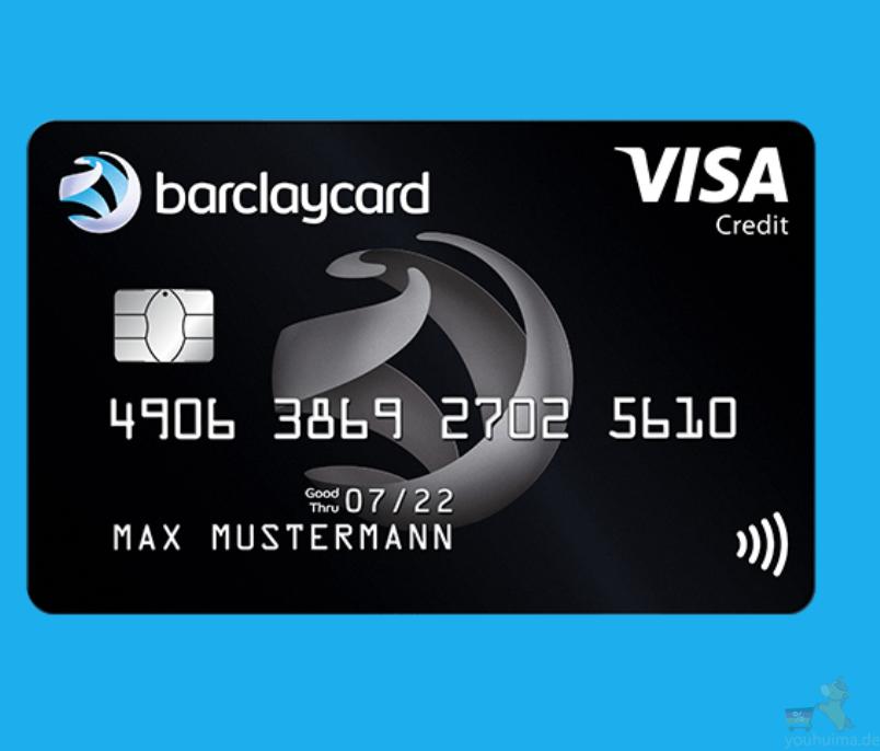 完全免费Barclaycard巴克莱Visa信用卡送50欧元