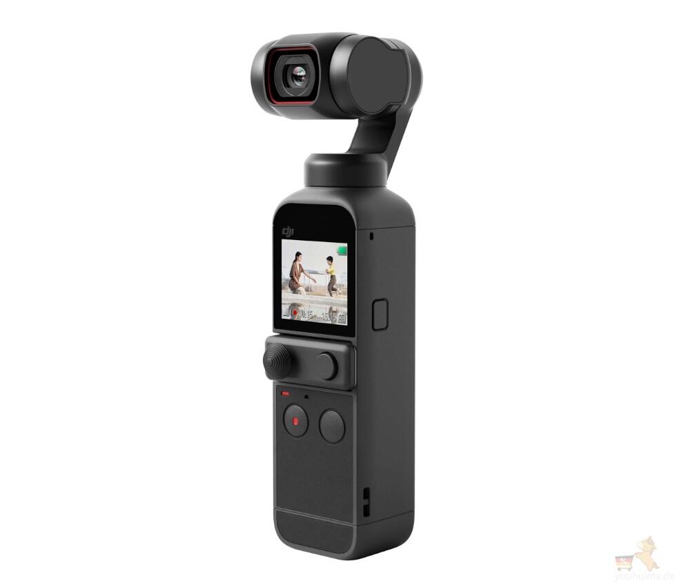 大疆新一代的口袋智能摄像机DJI Pocket 2