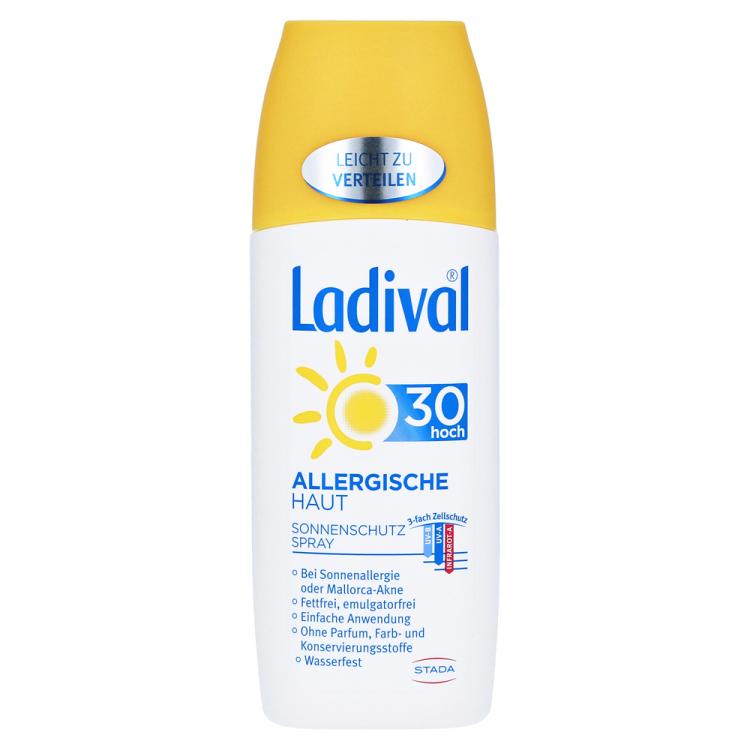 Ladival敏感肌肤可用的天然防晒产品6折还可包邮