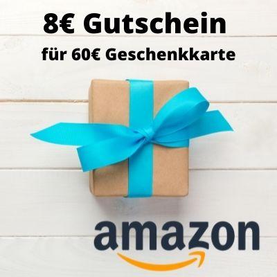 购买60欧的亚马逊购物券,就送8欧亚马逊购物券!